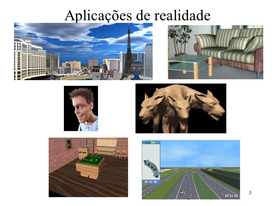 Aplicações de realidade