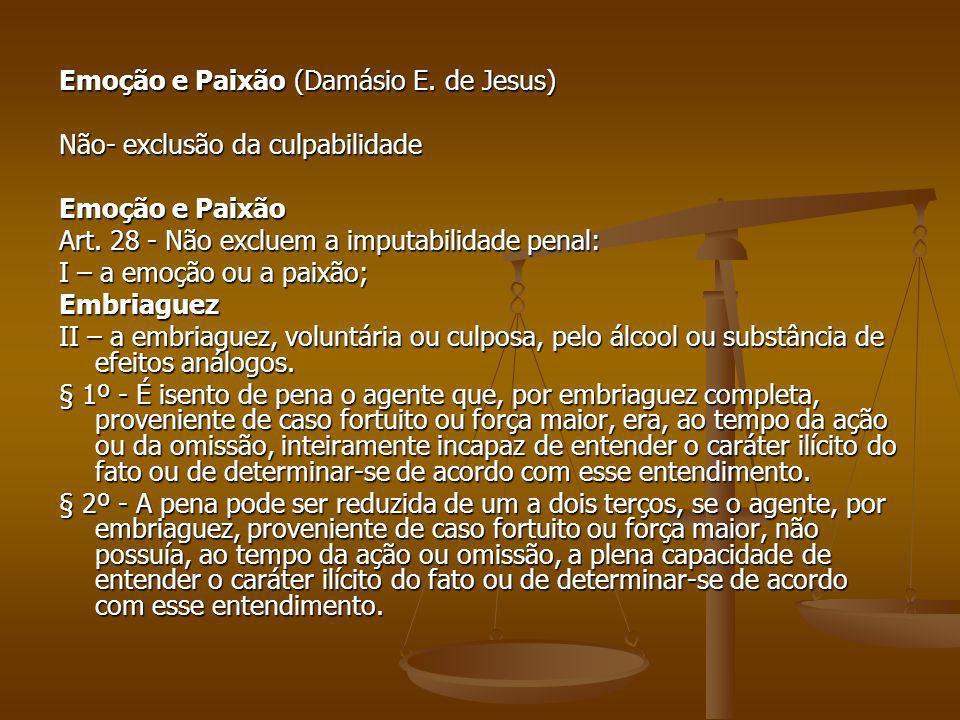 Emoção e Paixão (Damásio E. de Jesus)
