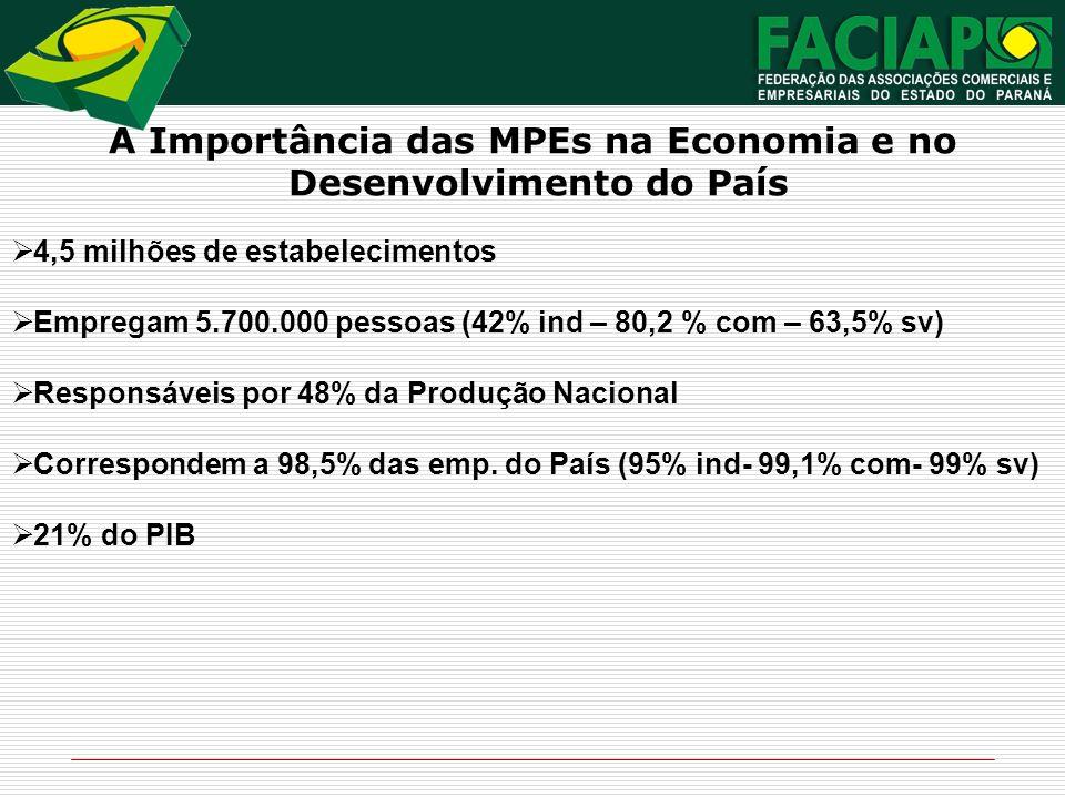 A Importância das MPEs na Economia e no Desenvolvimento do País
