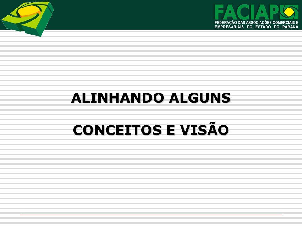 ALINHANDO ALGUNS CONCEITOS E VISÃO