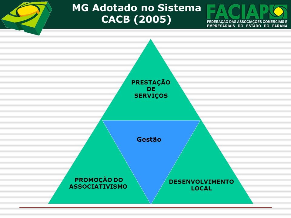 MG Adotado no Sistema CACB (2005)