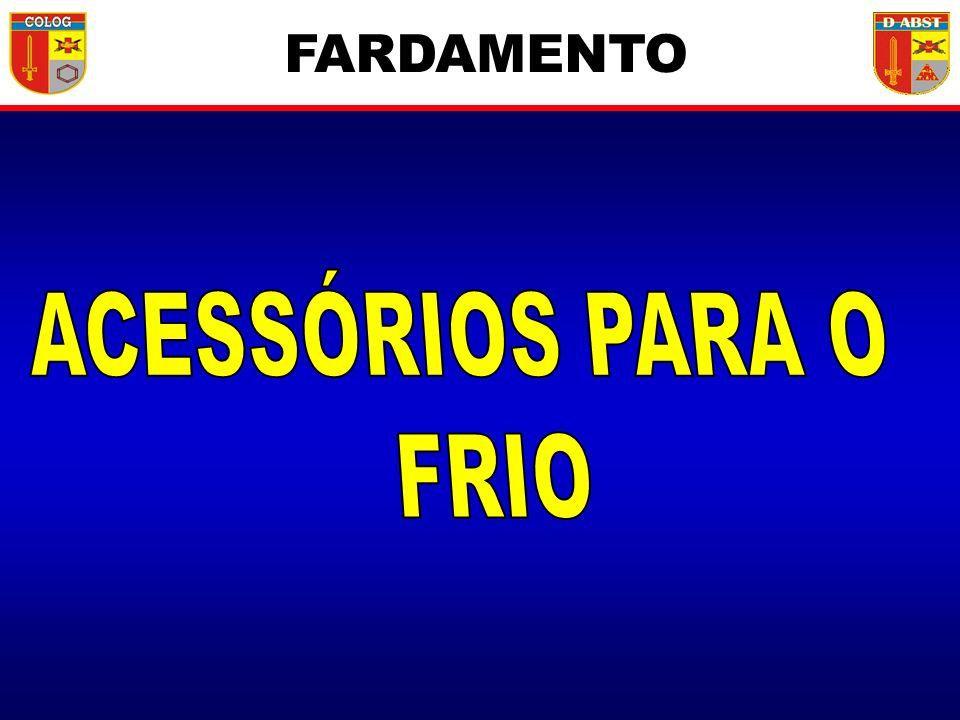 FARDAMENTO ACESSÓRIOS PARA O FRIO