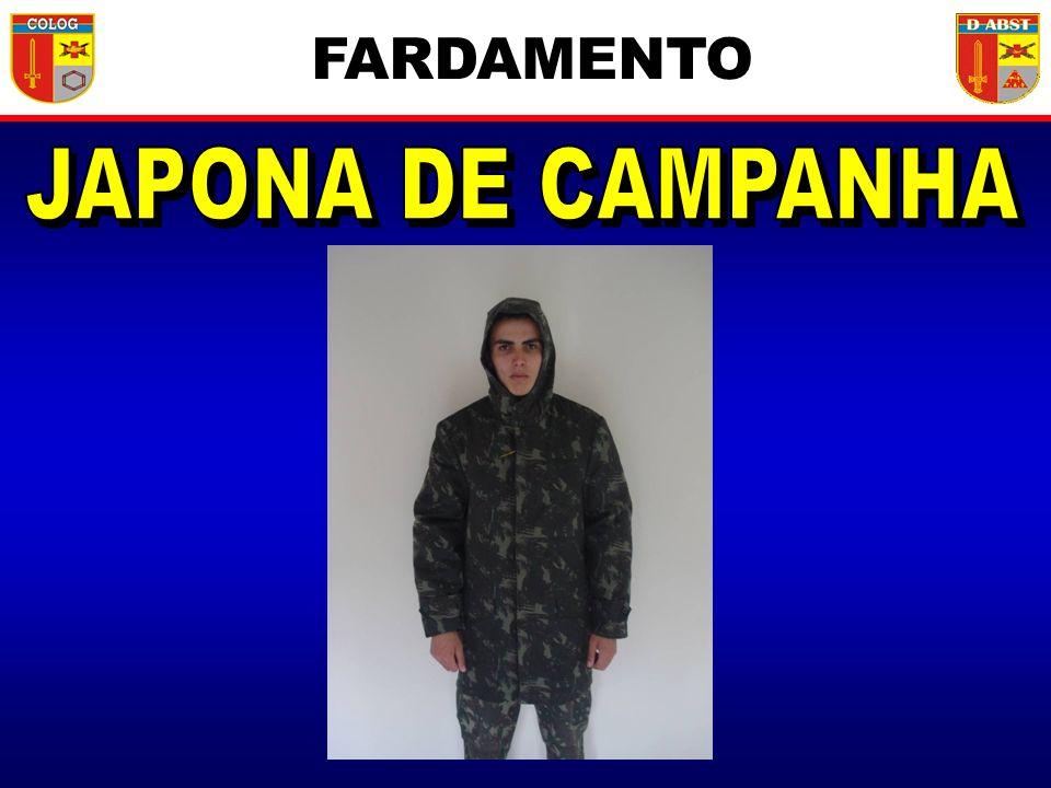 FARDAMENTO JAPONA DE CAMPANHA