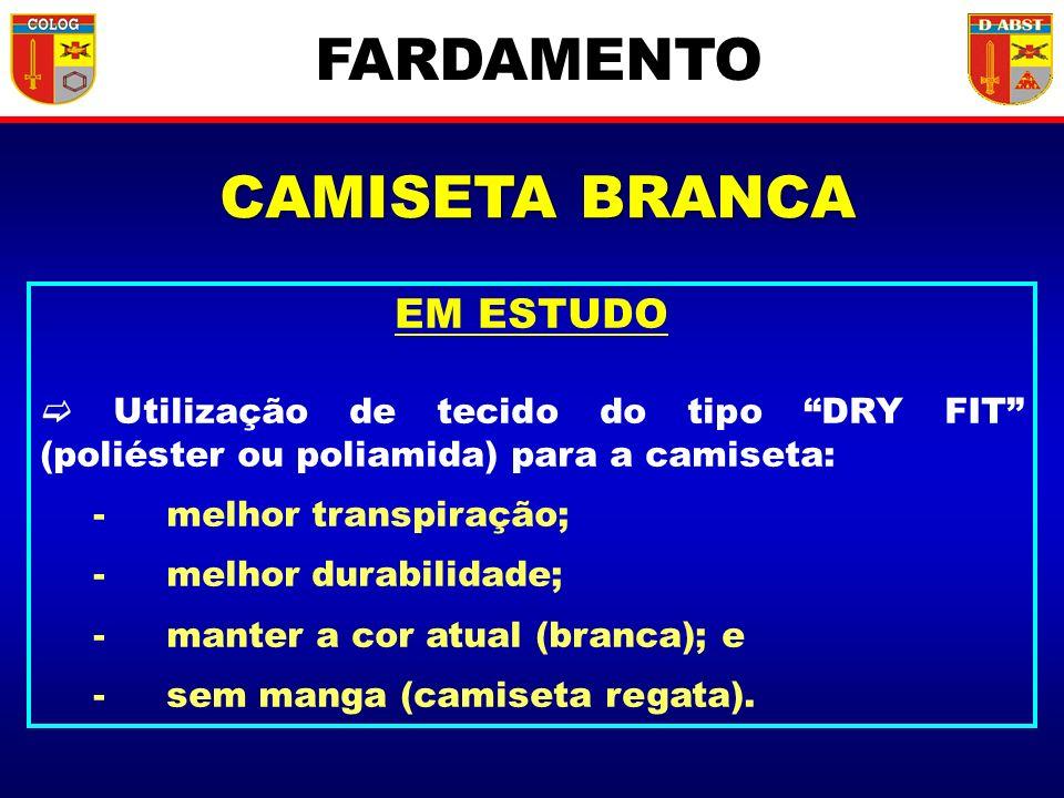 FARDAMENTO CAMISETA BRANCA EM ESTUDO
