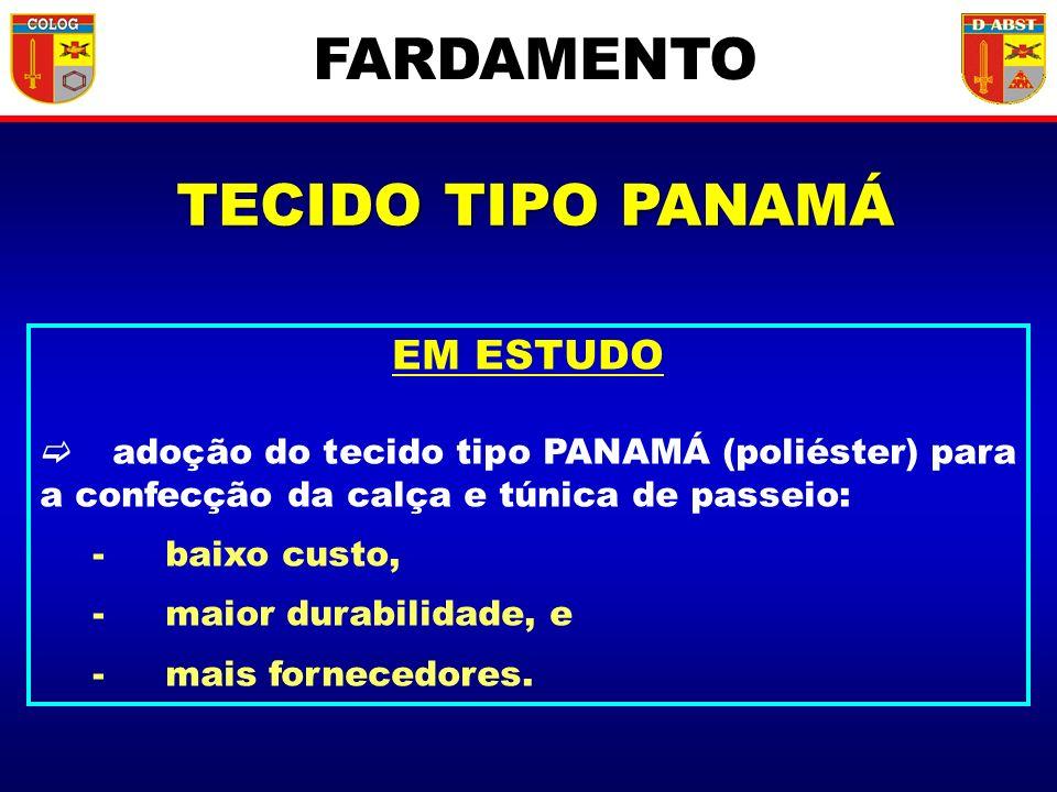 FARDAMENTO TECIDO TIPO PANAMÁ EM ESTUDO