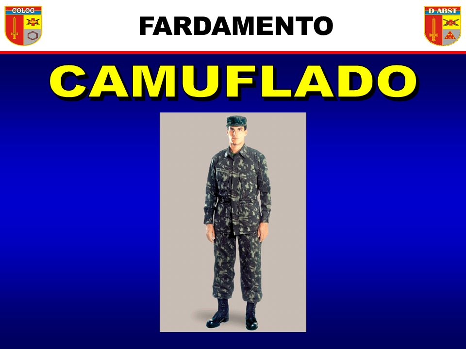 FARDAMENTO CAMUFLADO