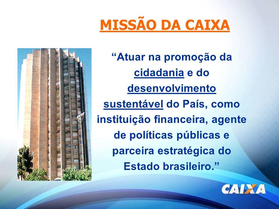 MISSÃO DA CAIXA
