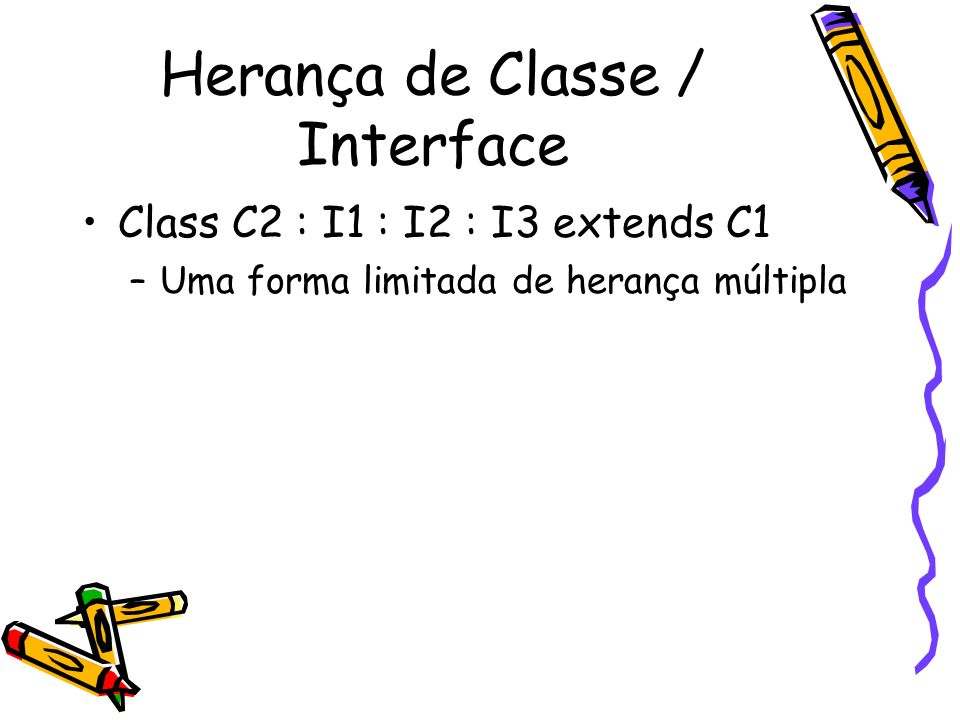Herança de Classe / Interface