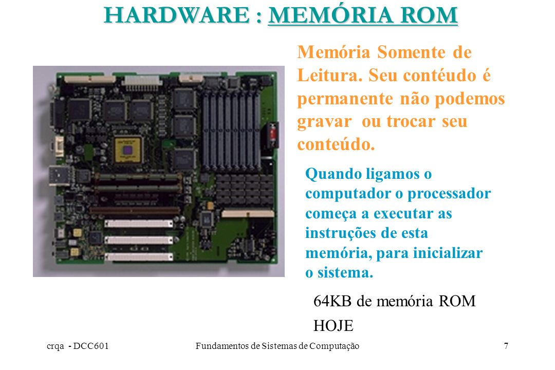 Fundamentos de Sistemas de Computação