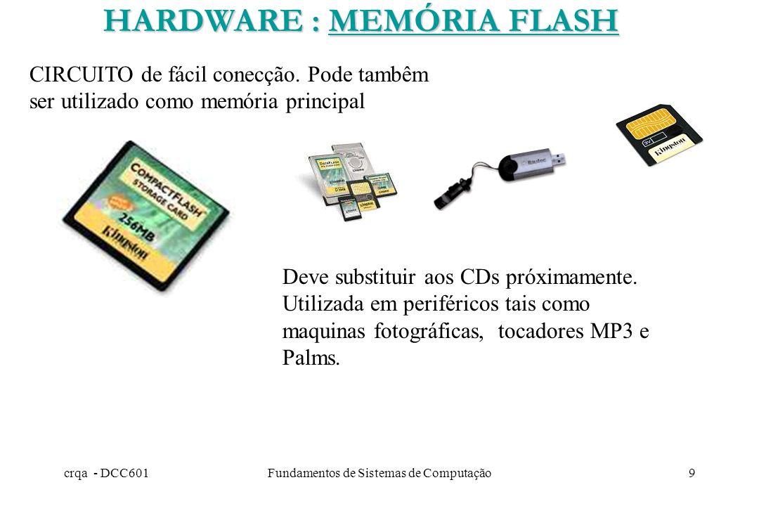 HARDWARE : MEMÓRIA FLASH