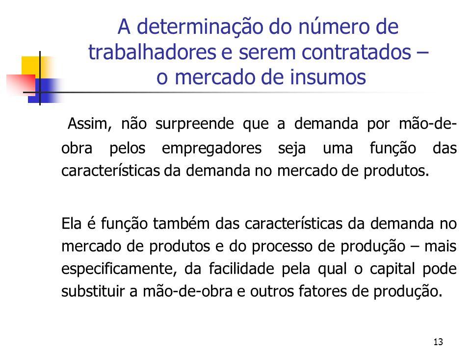 ECONOMIA DO TRABALHO - NOTAS DE AULA