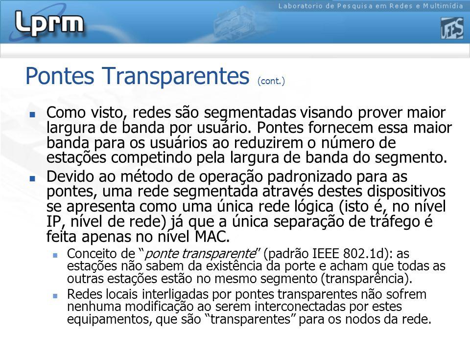 Pontes Transparentes (cont.)