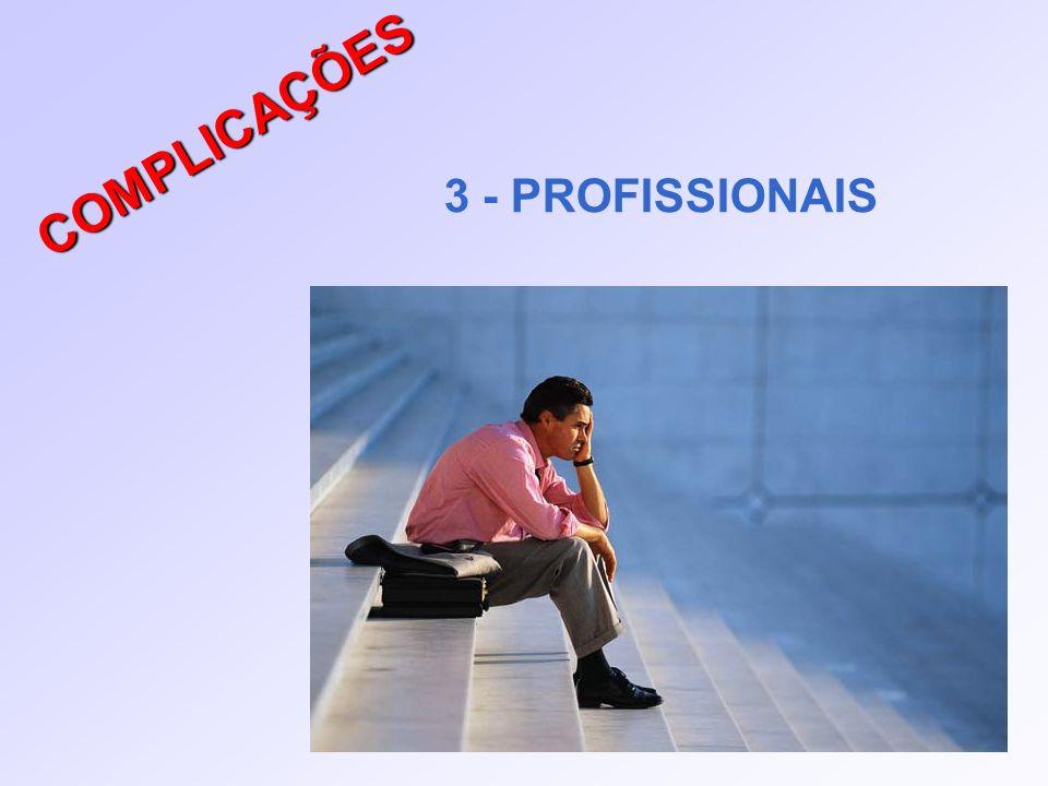 COMPLICAÇÕES 3 - PROFISSIONAIS