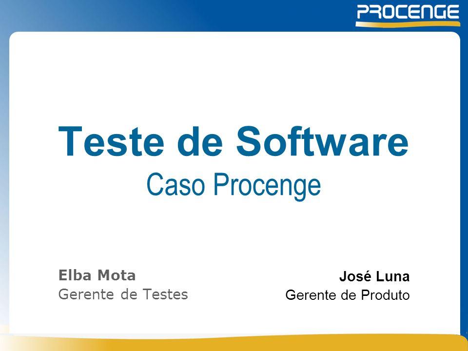 Teste de Software Caso Procenge