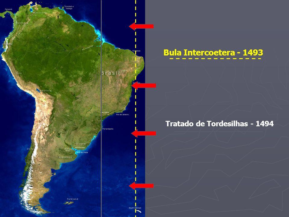 Bula Intercoetera - 1493 Tratado de Tordesilhas - 1494