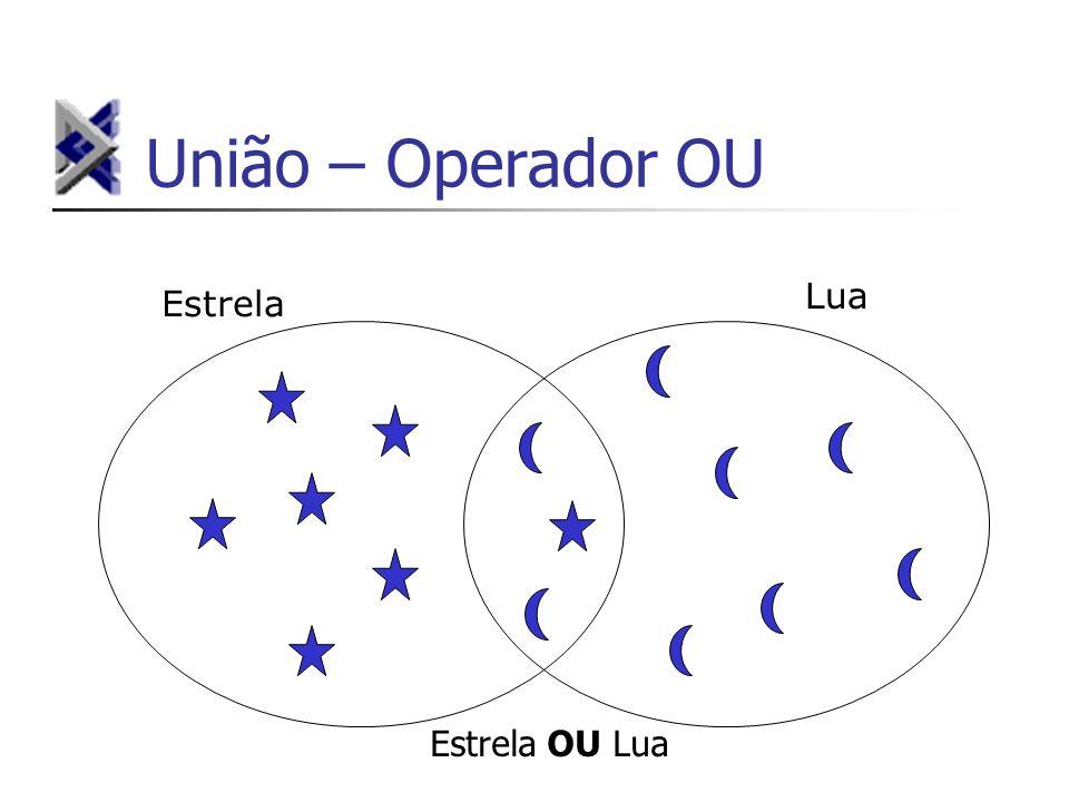União – Operador OU Lua Estrela Estrela OU Lua