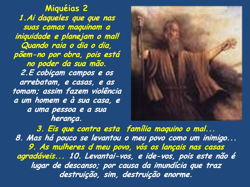 Miquéias 2