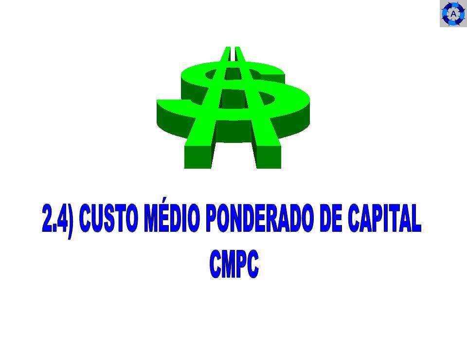 2.4) CUSTO MÉDIO PONDERADO DE CAPITAL