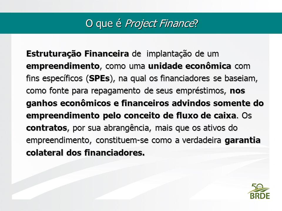 O que é Project Finance