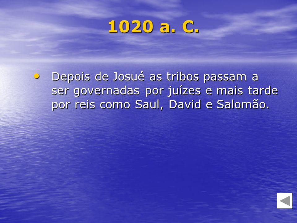 1020 a. C.