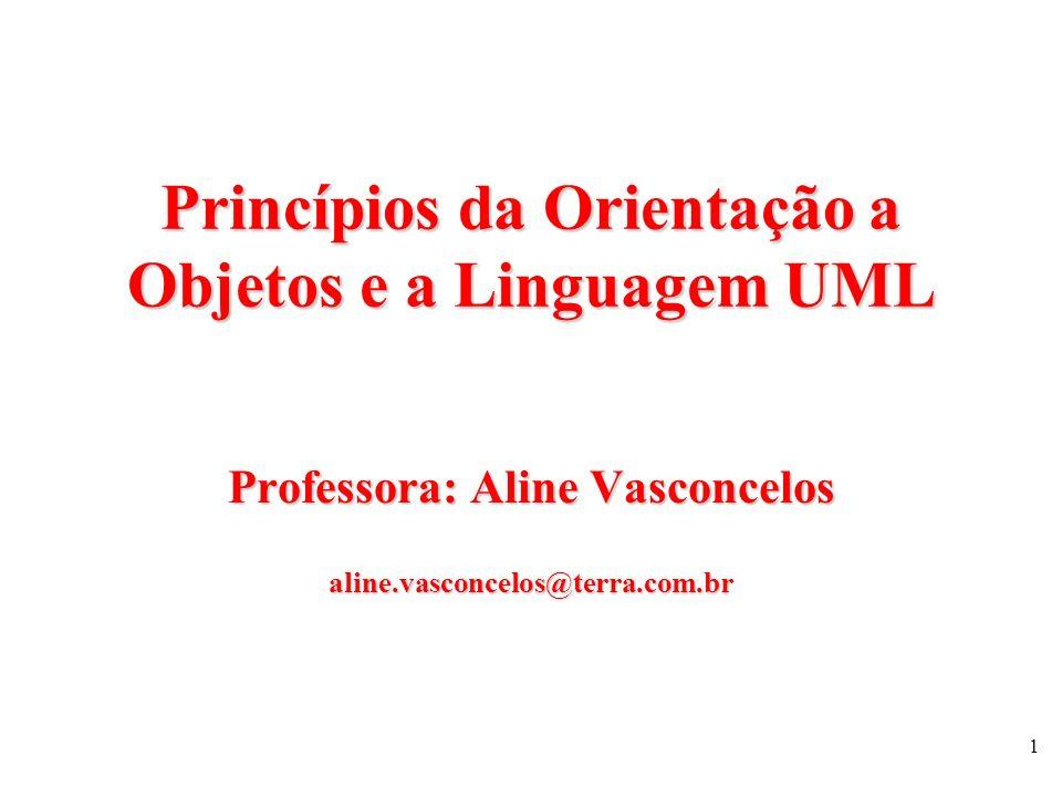 Princípios da Orientação a Objetos e a Linguagem UML