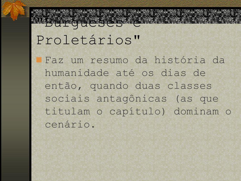 Burgueses e Proletários