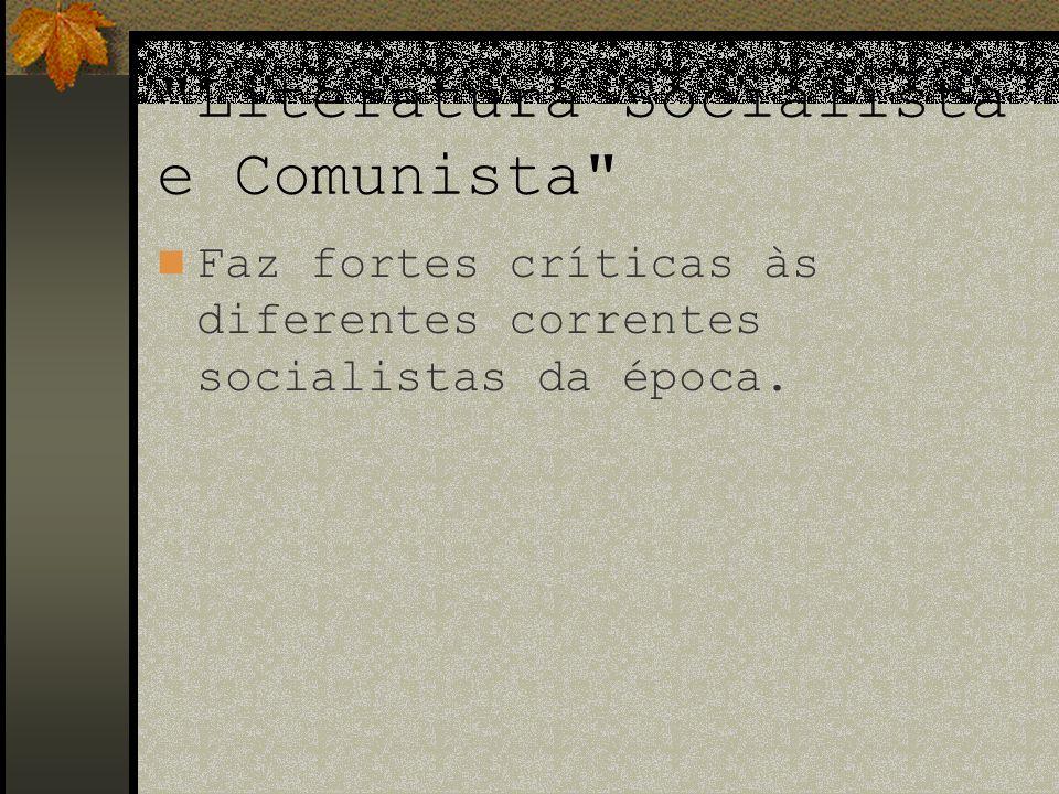 Literatura Socialista e Comunista