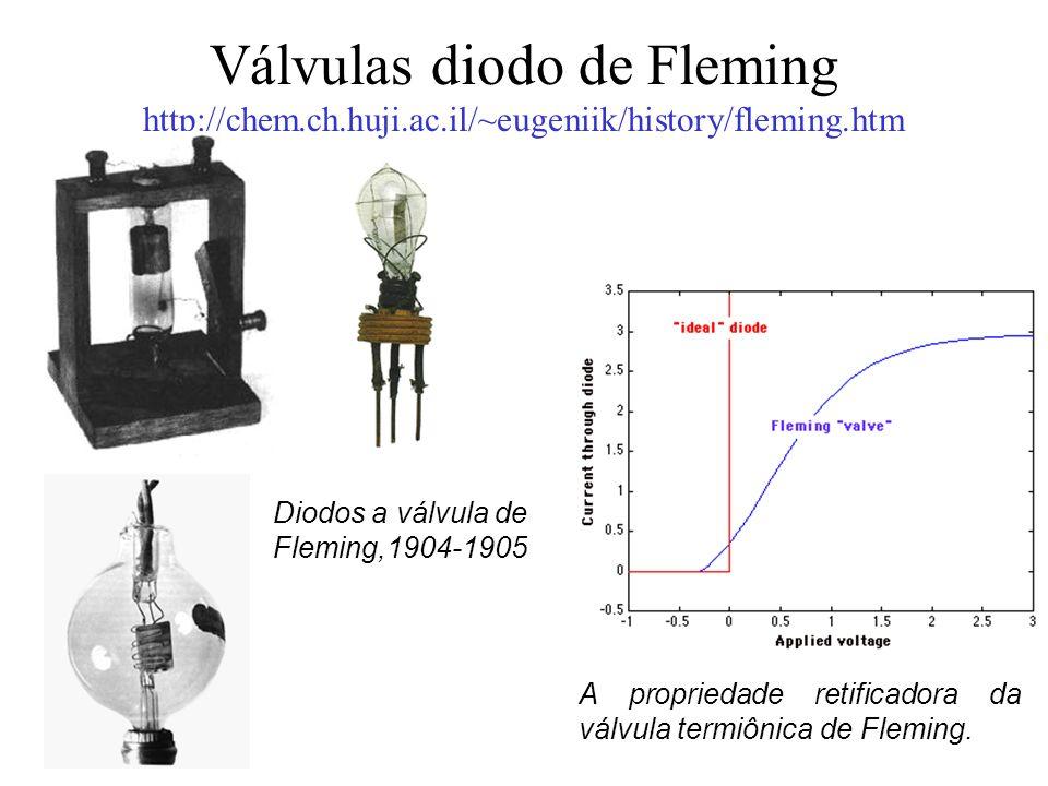 Válvulas diodo de Fleming http://chem. ch. huji. ac