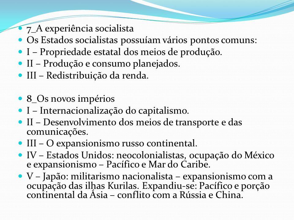 7_A experiência socialista