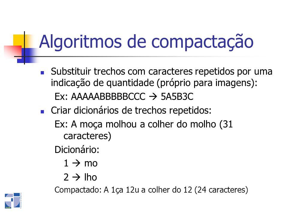 Algoritmos de compactação