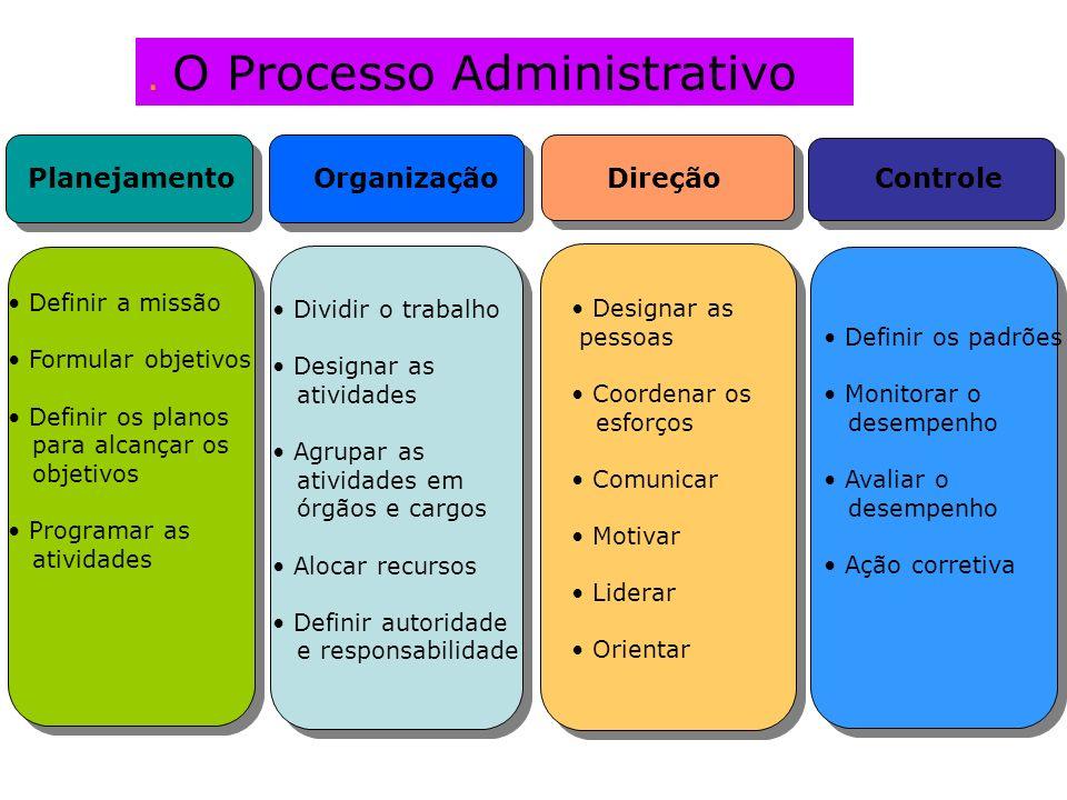 . O Processo Administrativo