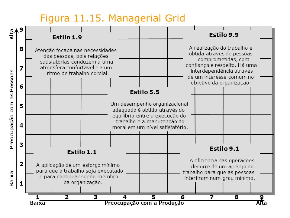 Figura Managerial Grid