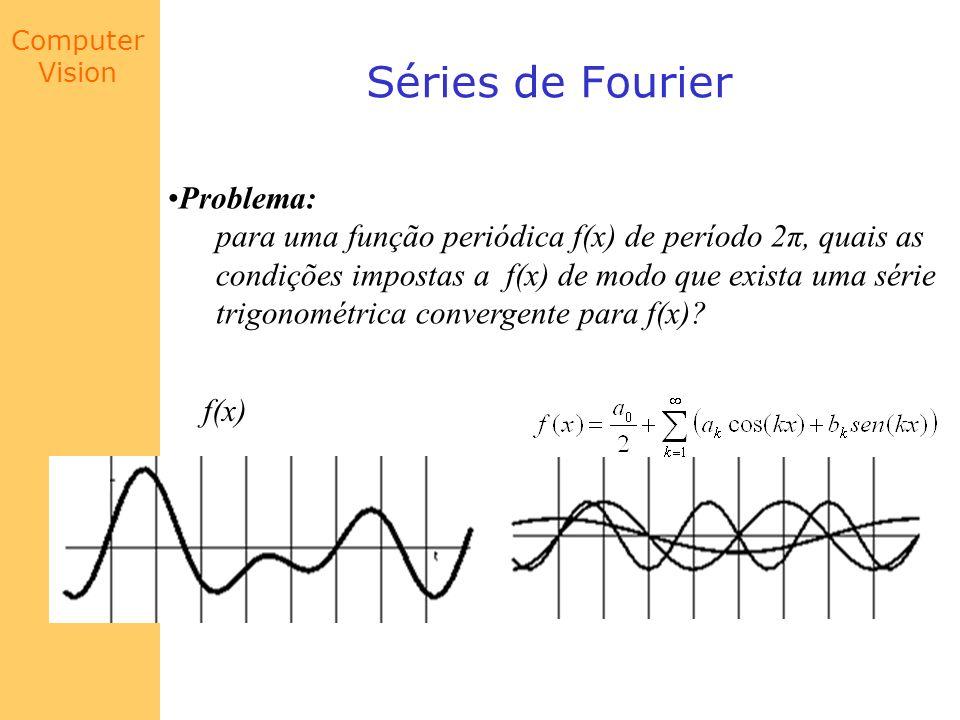 Séries de Fourier Problema: