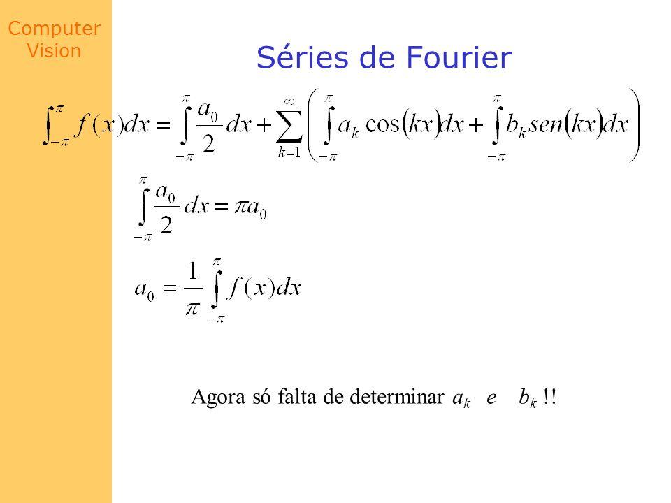 Séries de Fourier Agora só falta de determinar ak e bk !!