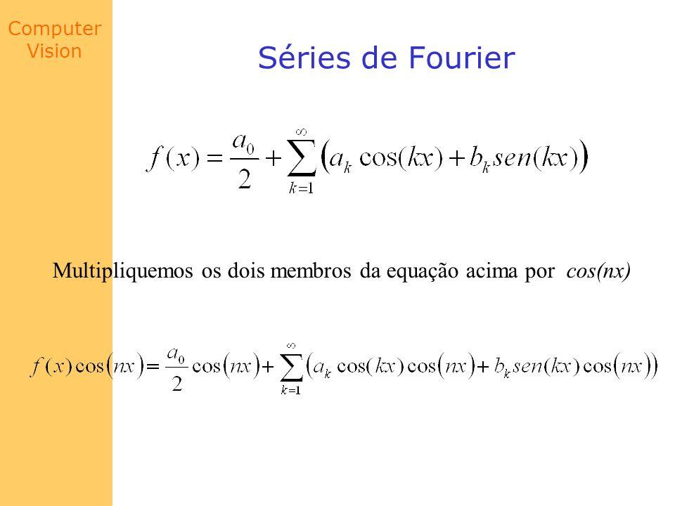 Séries de Fourier Multipliquemos os dois membros da equação acima por cos(nx)