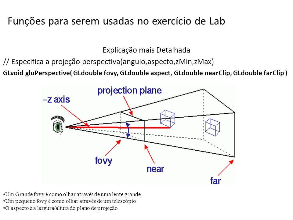 Funções para serem usadas no exercício de Lab