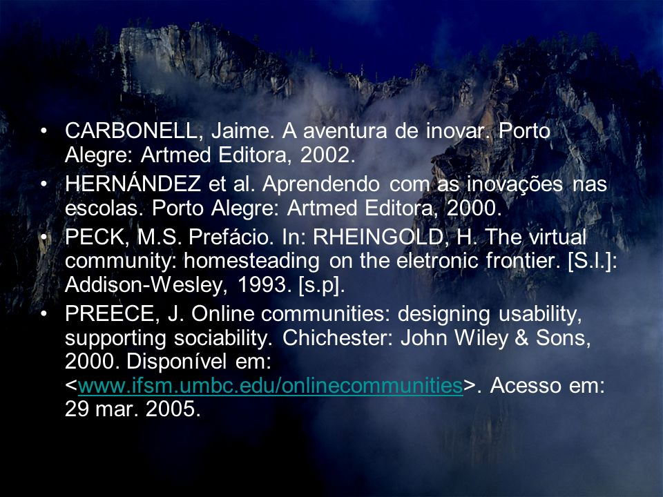 CARBONELL, Jaime. A aventura de inovar