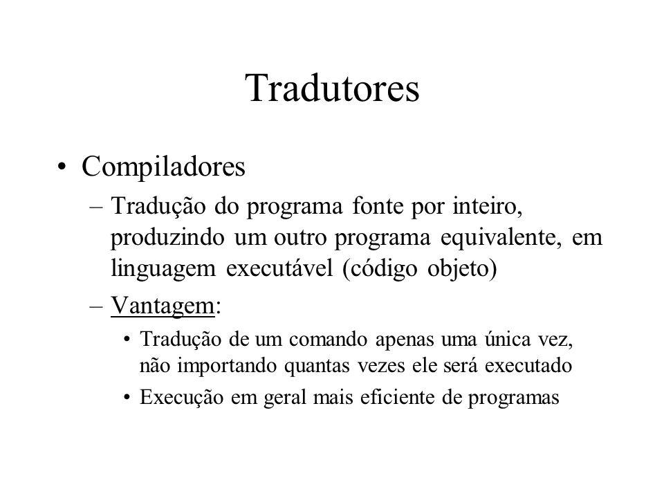 Tradutores Compiladores