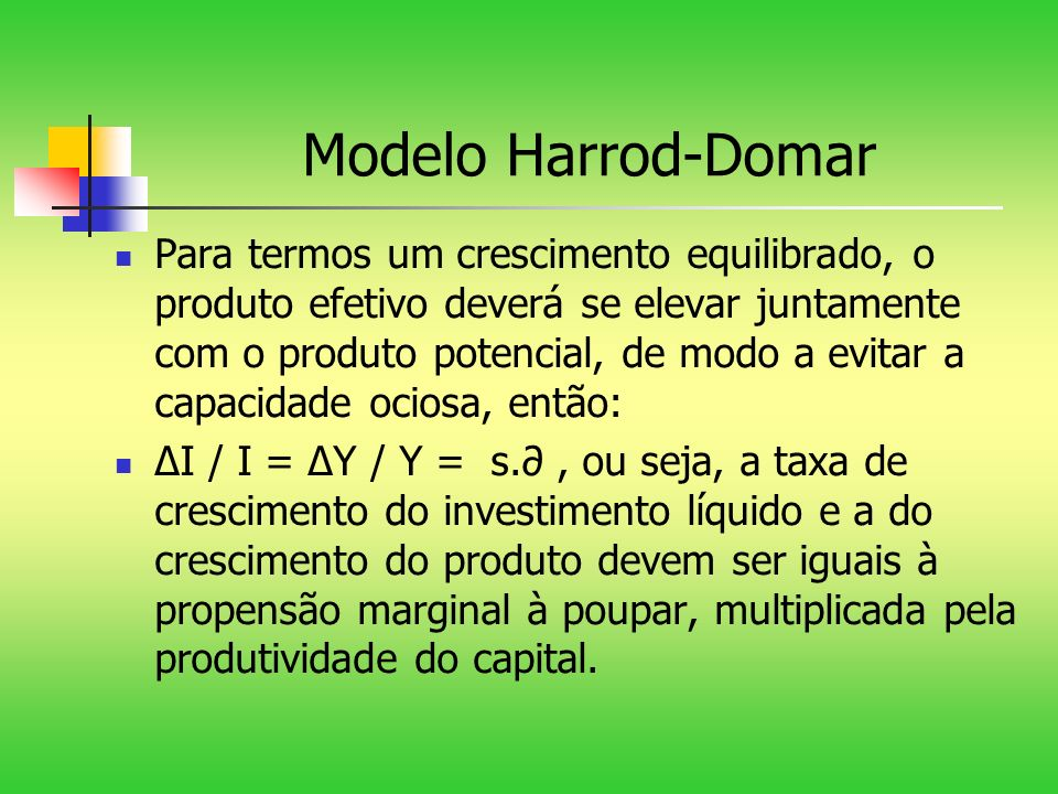 Modelo Harrod-Domar