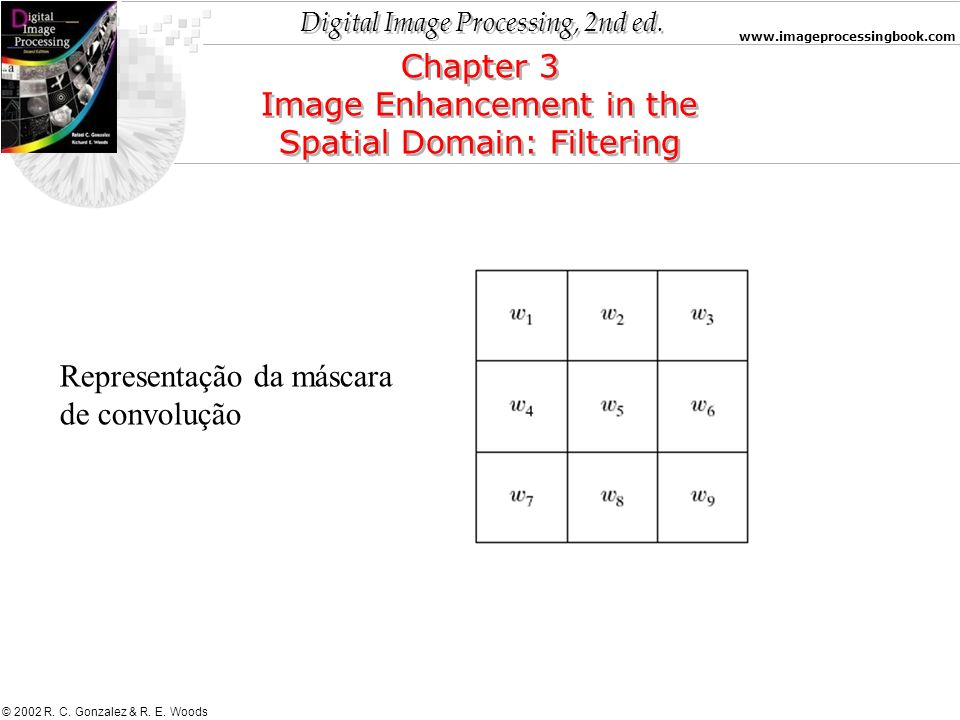 Image Enhancement in the Spatial Domain: Filtering