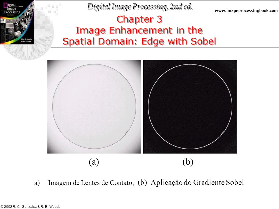Image Enhancement in the Spatial Domain: Edge with Sobel