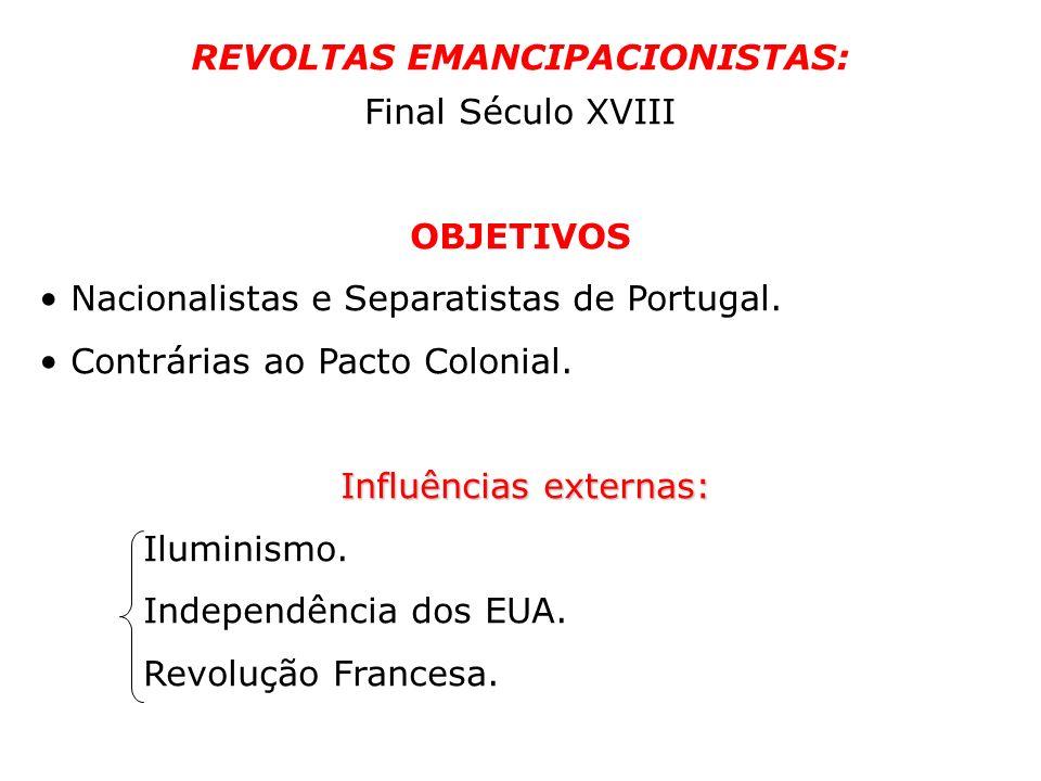REVOLTAS EMANCIPACIONISTAS: