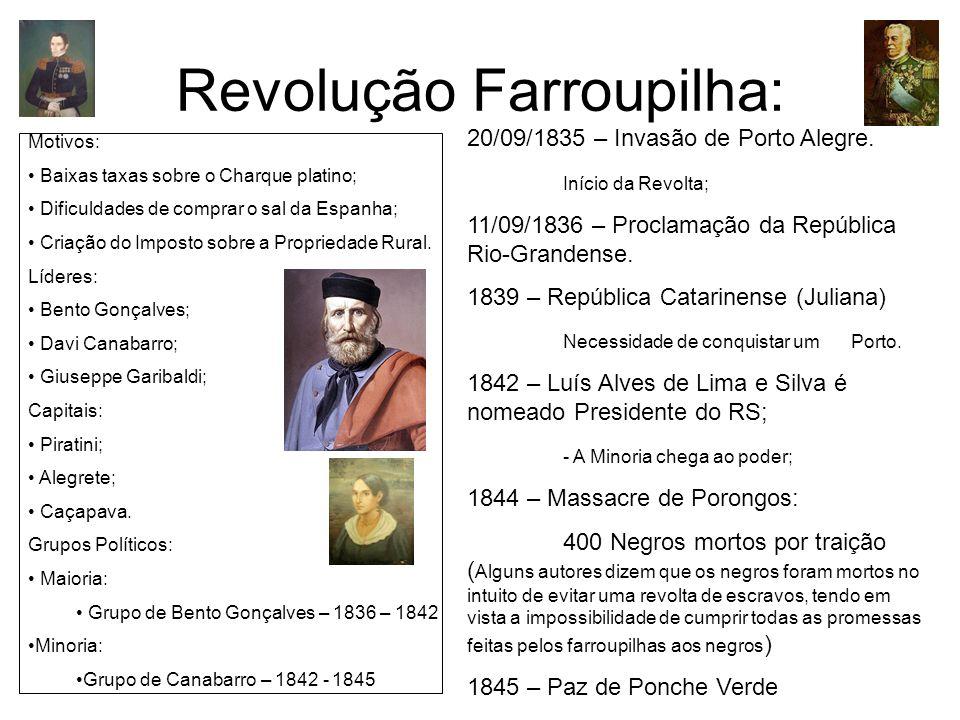 Revolução Farroupilha: