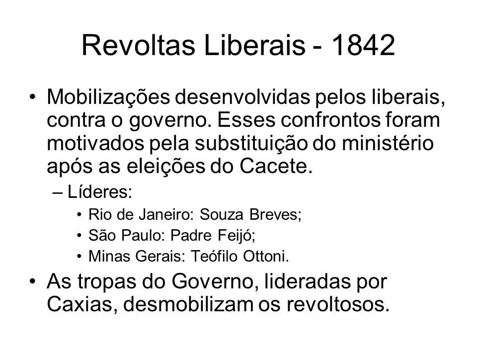 Revoltas Liberais - 1842