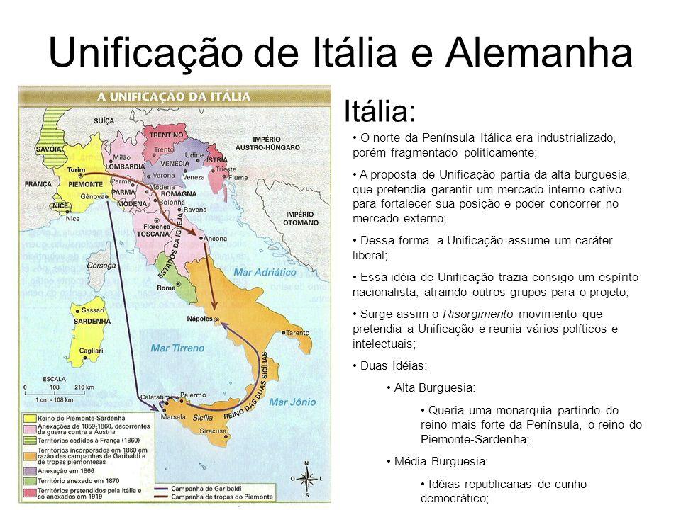 Unificação de Itália e Alemanha