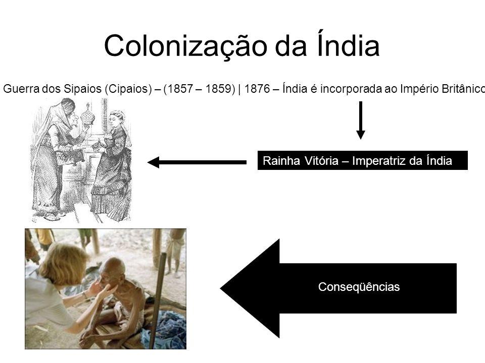 Colonização da Índia Rainha Vitória – Imperatriz da Índia