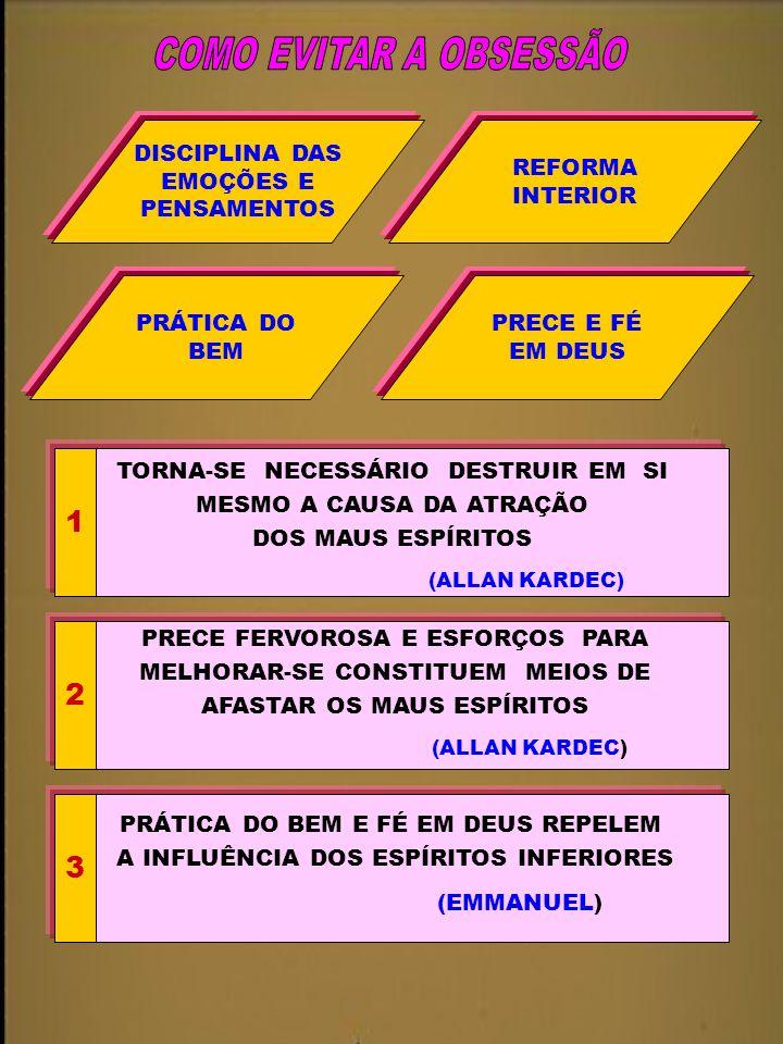 COMO EVITAR A OBSESSÃO 1 2 3 DISCIPLINA DAS EMOÇÕES E PENSAMENTOS