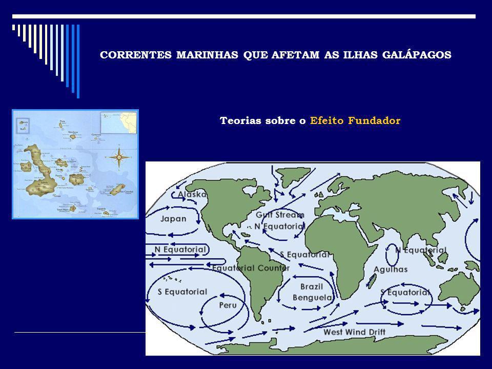 CORRENTES MARINHAS QUE AFETAM AS ILHAS GALÁPAGOS