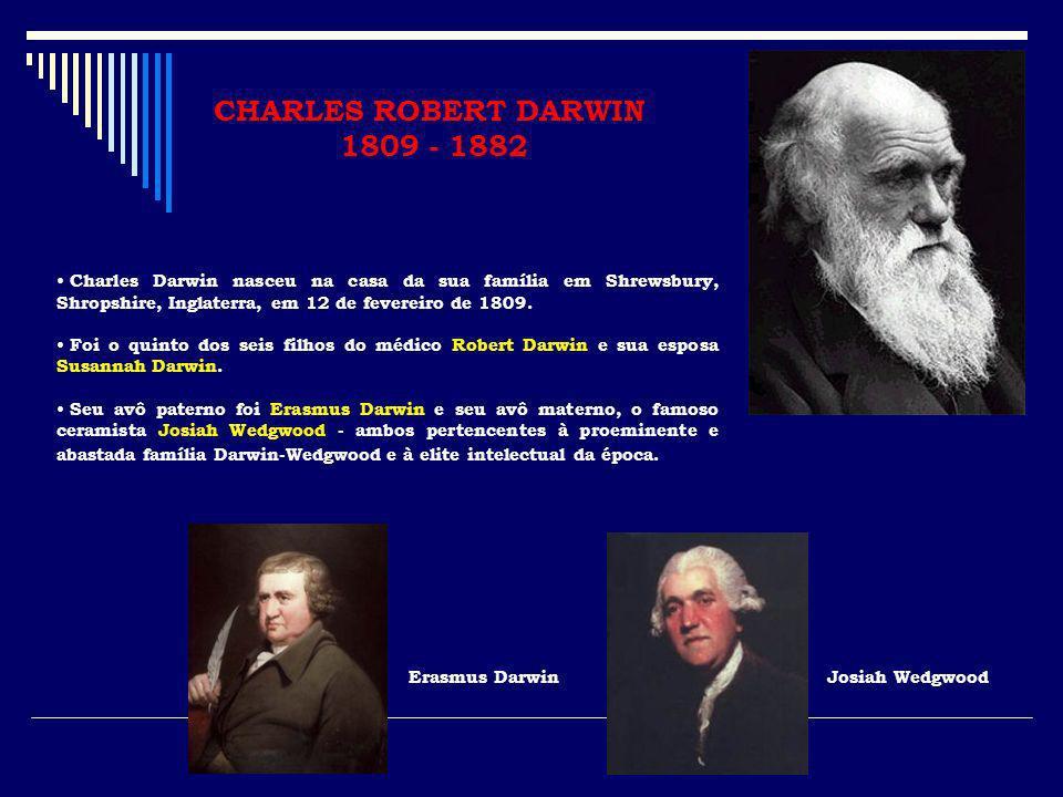 CHARLES ROBERT DARWIN 1809 - 1882