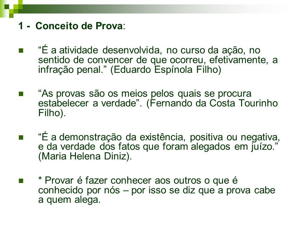 1 - Conceito de Prova: